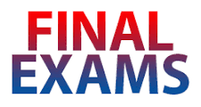 Final Exams Timetable ( 3rd Prep. & 1st Sec. )