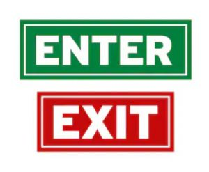 Regulating entry and exit